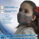 Antimikrobiyal Üst Düzey Yıkanabilir Çocuk Maskesi