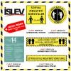 İşlev Sosyal Mesafe Stickeri 10'lu Set