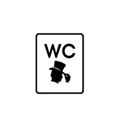 WC Bay - Dekota Levha (10x20cm)